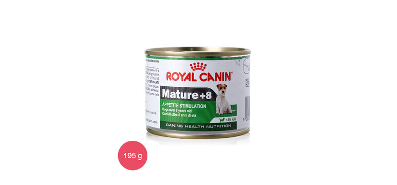 Royal Canin Wet Food For Dog Mature+8 Dogs over 8 years old 195g