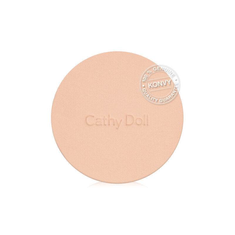 Cathy Doll Skin Fit Nude Matte Powder Pact SPF30/PA+++ 12g #02 Light Beige