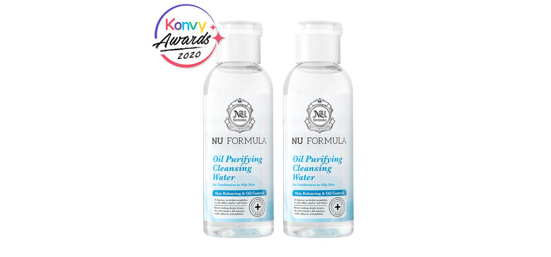 [แพ็คคู่] Nu Formula Oil Purifying Cleansing Water [100ml x 2pcs]