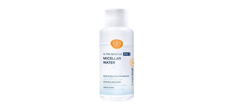 SOS Ultra Sensitive PM1 Micellar Water 300ml