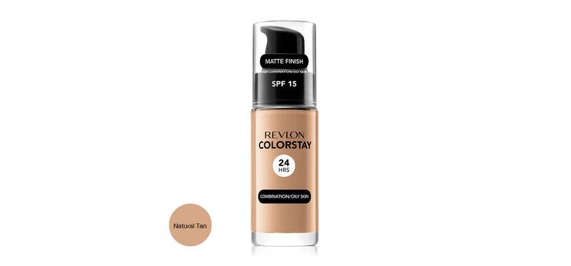 REVLON Colorstay Makeup Combination/Oily Skin SPF15 30ml #Natural Tan