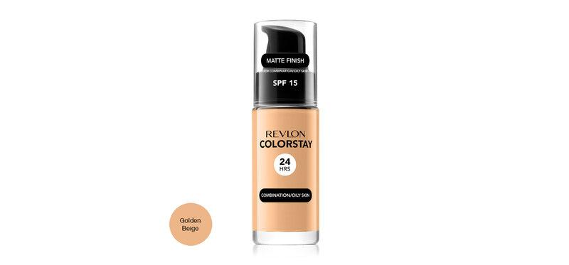 REVLON Colorstay Makeup Combination/Oily Skin SPF15 30ml #Golden Beige
