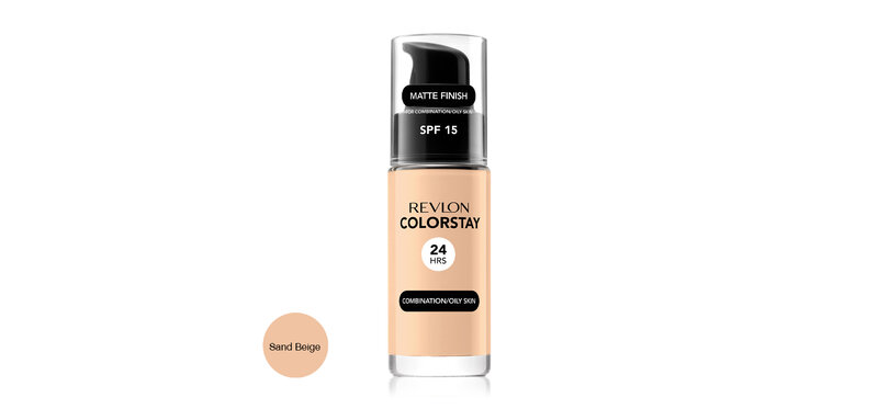 REVLON Colorstay Makeup Combination/Oily Skin SPF15 30ml #Sand Beige