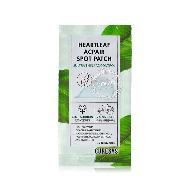 CURESYS Heartleaf Acpair Spot Patch 15 Sheets