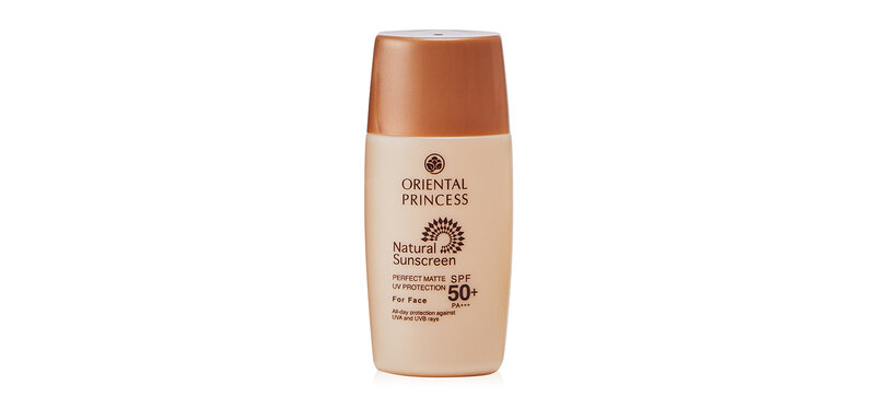Oriental Princess Natural Sunscreen Perfect Matte UV Protection For Face SPF50+/PA+++ 20ml