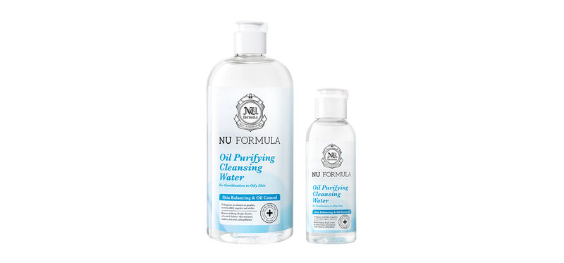 Nu Formula Set 2 Items Oil Purifying Cleansing Water 510ml + Oil Purifying Cleasning Water 100ml