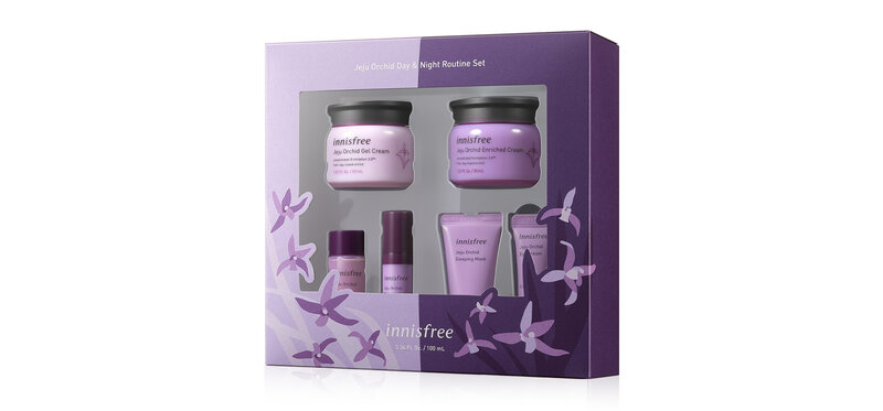 Innisfree Orchid Day & Night Set