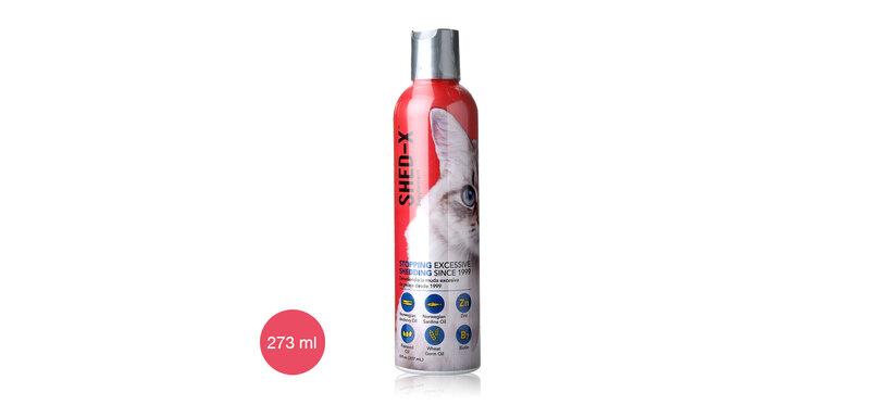 Shed-x Supplement Dermaplex for Cats 273ml