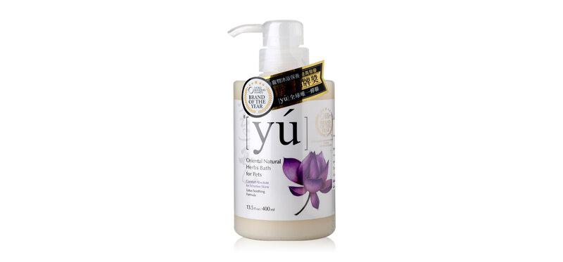 YU Oriental Natural Herbs Bath for Pets Comfort Absolute For Sensitive Skin Formula 400ml
