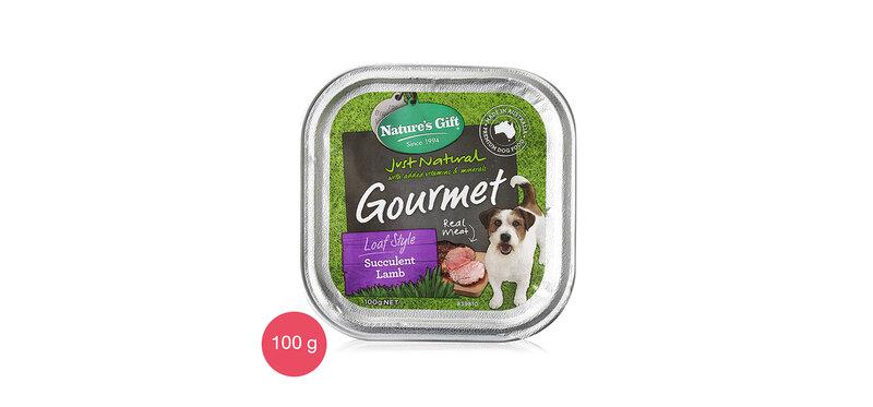 Nature's Gift Dog Wet Food Succulent Lamb 100g