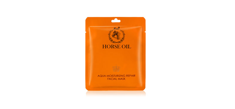 Moods Skin Care Horse Oil Aqua Moisturizing Repair Facial Mask 30ml