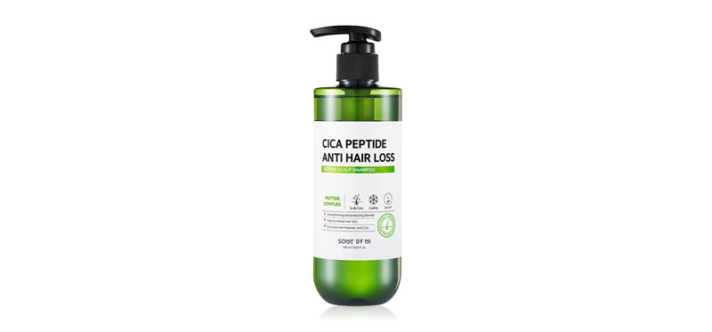 Some By Mi Cica Peptide Anti Hair Loss Derma Scalp Shampoo 285ml