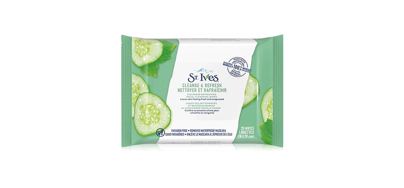 St.Ives Cucumber Cleansing Wipes 25 Sheets