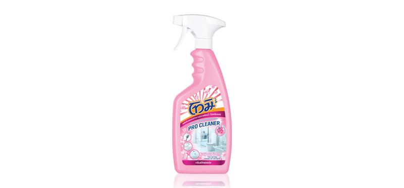 Tomi Bathroom Cleaner Spray Pink Sweet Floral 550ml