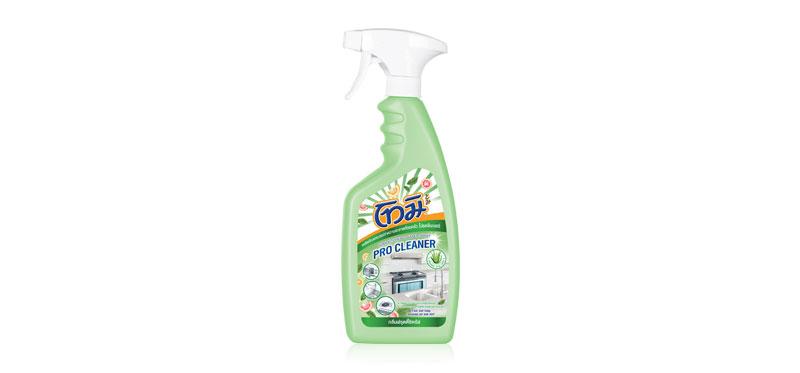Tomi Kitchen Cleaner Spray Green Fruity Citrus 550ml
