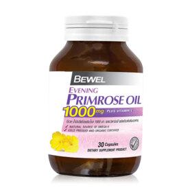 ฟรี! Bewel Evening Primrose Oil 1000mg Plus Vitamin-E 30 Capsules (1 ชิ้น / 1 ออเดอร์) เมื่อช้อปสินค้า Bewel ครบ 399.-