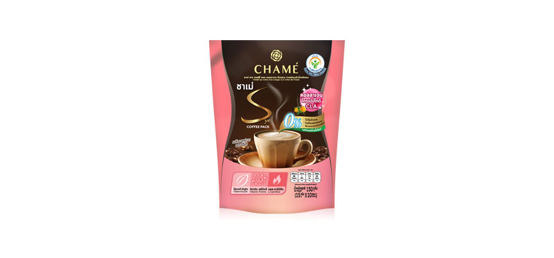 Chame Sye Coffee Collagen CLA [15g x 10 Sachets]