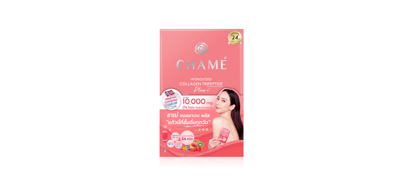 Chame Hydrolyzed Collagen Tripeptide Plus 10 Sachets