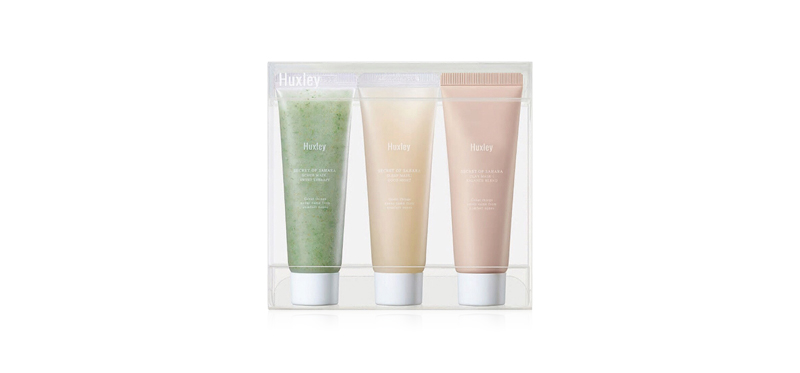 Huxley Spa Routine Deluxe Complete Set [30g x 3pcs]