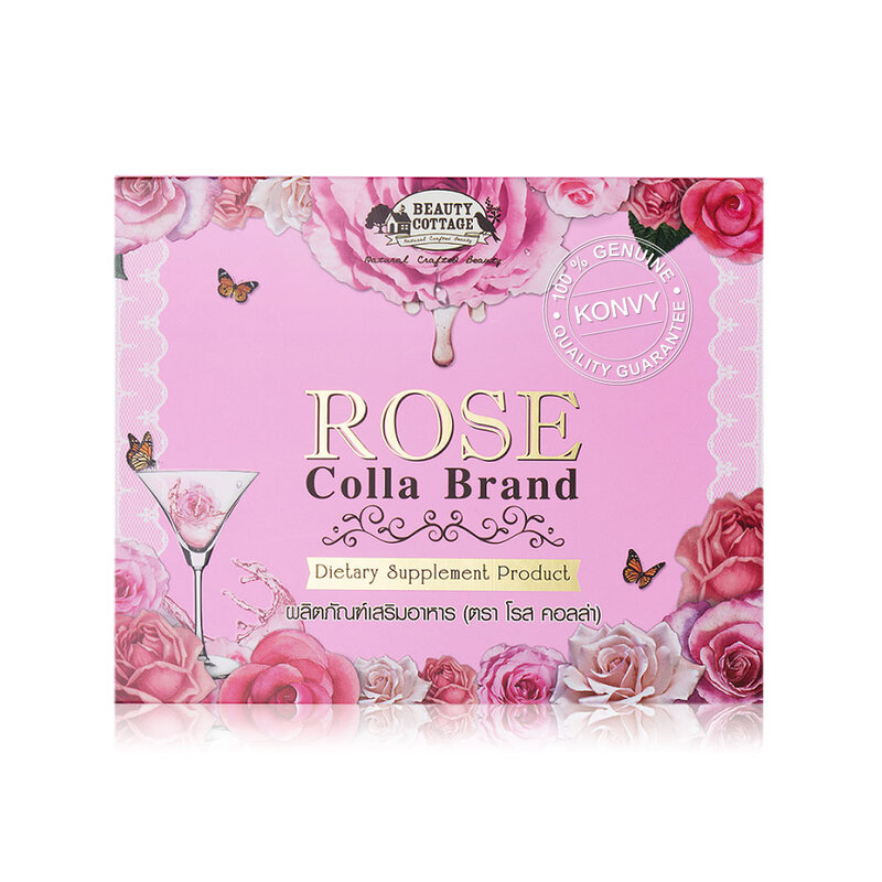 Beauty Cottage Dietary Supplement Product Rose Colla [25g x 10 Sachets]