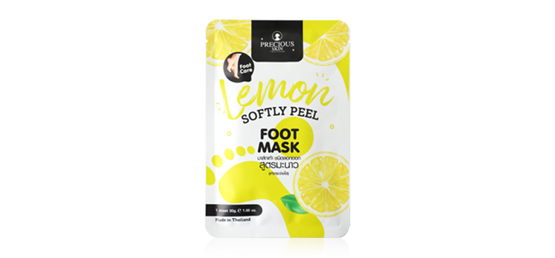 Precious Skin Thailand Lemon Softly Peel Foot Mask 30g