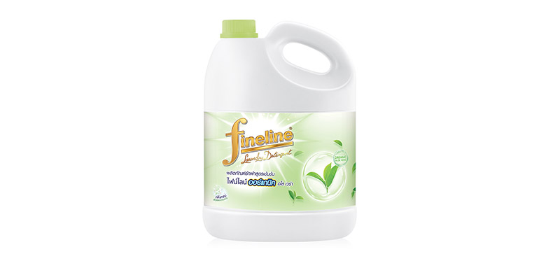 Fineline Concentrated Laundry Detergent Organic Aloe Vera Gallon 3000ml
