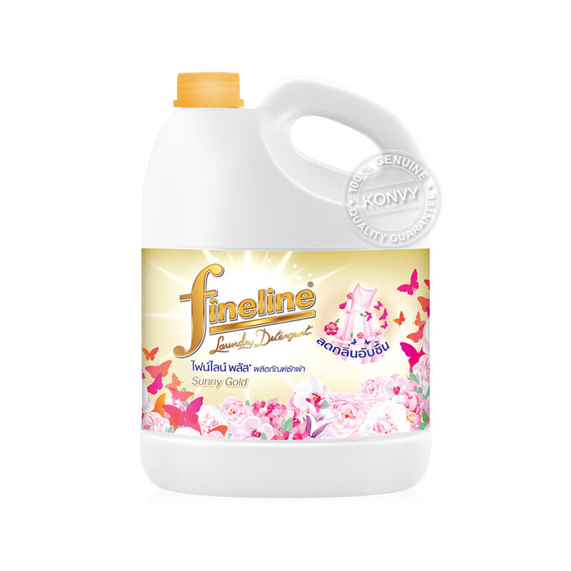 Fineline Liquid Detergent Plus Sunny Gold Gallon [Gold] 3000ml