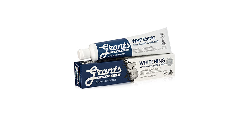 Grants of Australia Whitening with Baking Soda and Mint 110g