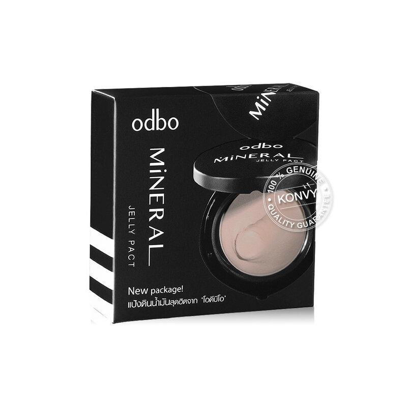 ODBO Mineral Jelly Pact Makeup Powder SPF36/PA++ 13g #OD619-C1