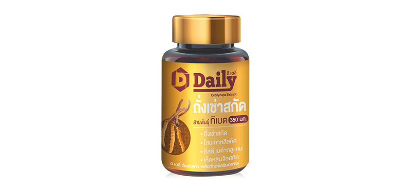 D-Daily Cordyceps Extract 30 Capsules