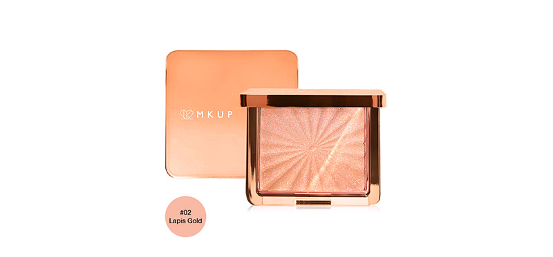 MKUP Angels Glow Highlighter 6.5g #02 Lapis Gold