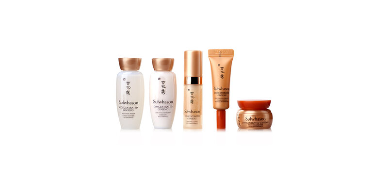 Sulwhasoo Concentrated Ginseng Anti-Aging Kit (5 items)