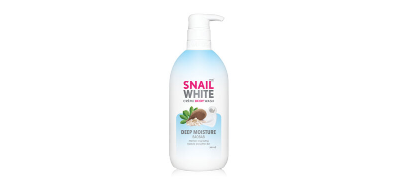 Namu Life Snailwhite Crème Body Wash Deep Moist 500ml