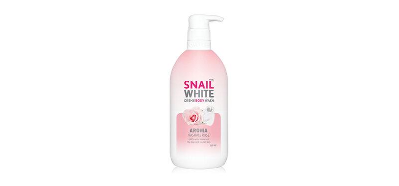 Namu Life Snailwhite Crème Body Wash Aroma Rashall Rose 500ml