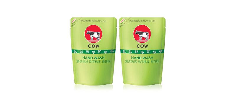 [แพ็คคู่] COW Seiketsu Kazoku Hand Soap Refill [220ml x 2pcs]