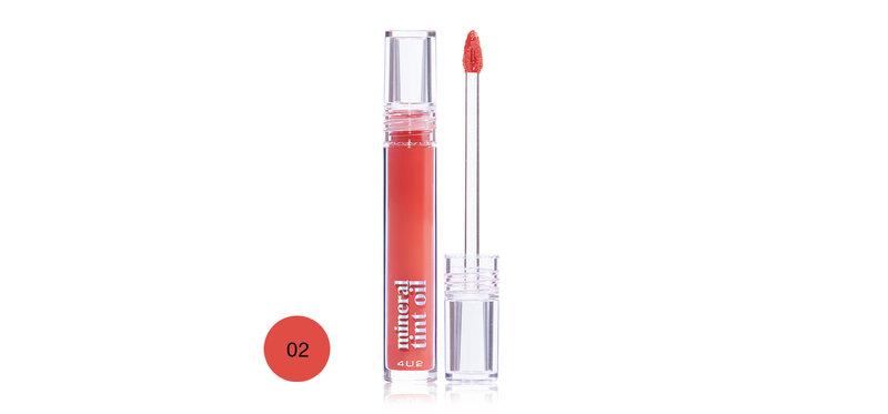 4U2 Mineral Tint Oil 3g #02 Shiny Orange