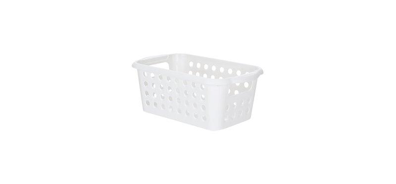 NaChuan Simple Storage Basket #White [Size S] [A0268-GC]