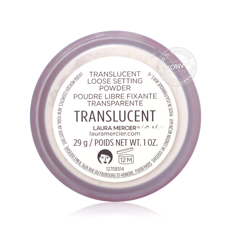 Laura Mercier Set for Luck Translucent Loose Setting Powder With Puff 29g [Limited Edition 2021]
