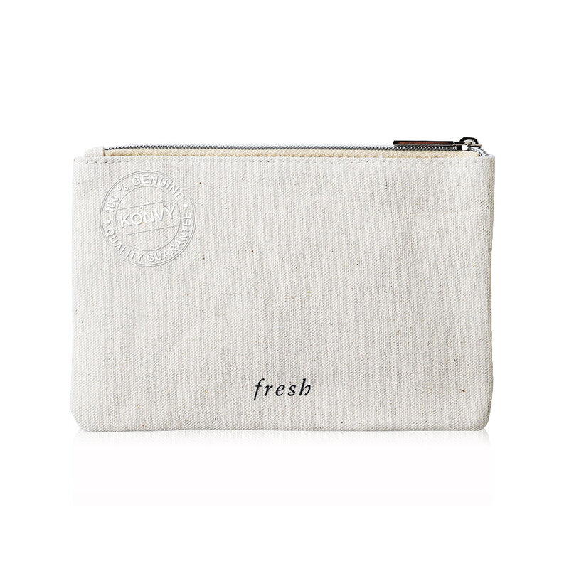 Fresh Small Flat Pouch #Natural