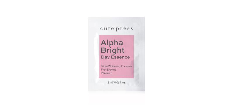 [Free Gift] Cute Press Alpha Bright Day Essence 2ml