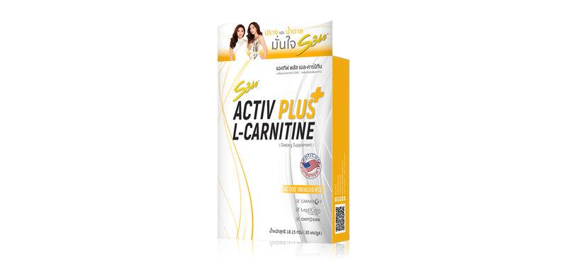 S360 Activ Plus L-Carnitine 30 Capsules