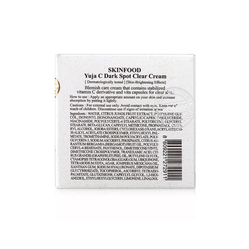 Skinfood Yuja C Dark Spot Clear Cream 61ml
