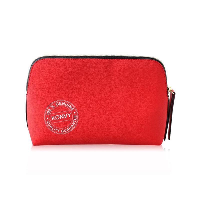 Estee Lauder Cosmetic medium Bag #Red