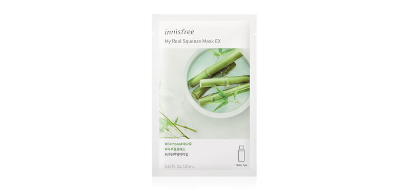 Innisfree My Real Squeeze Mask Bamboo EX 20ml