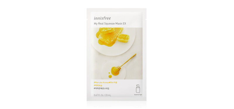 Innisfree My Real Squeeze Mask Manuka Honey EX 20ml