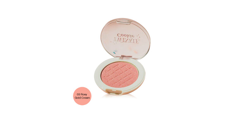 Skinfood Twinkle Cookie Highlighter 4g #03 Rosy Gold Cream