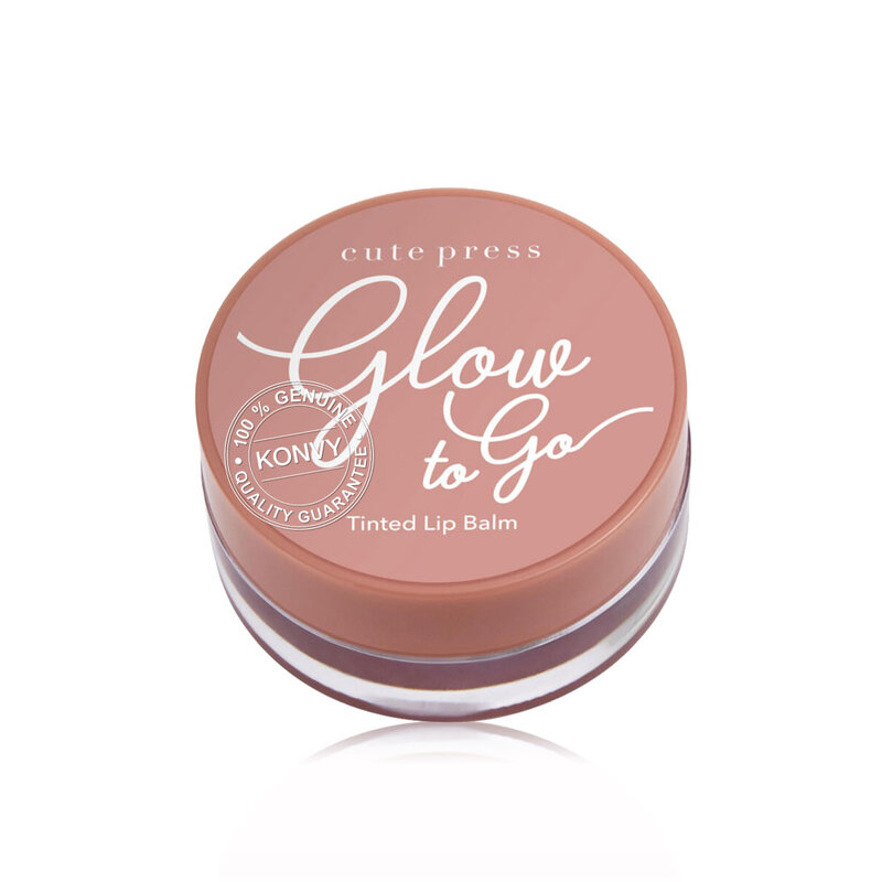 Cute Press Glow to Go Tinted Lip Balm 6.5g #05 Beige Nude