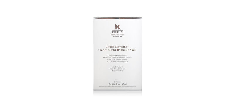 Kiehl's Clearly Corrective Clarity Booster Hydration Mask (5pcsx25ml)