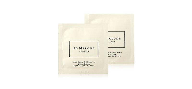 [แพ็คคู่] Jo Malone Lime Basil & Mandarin Body Creme (5mlx2pcs)