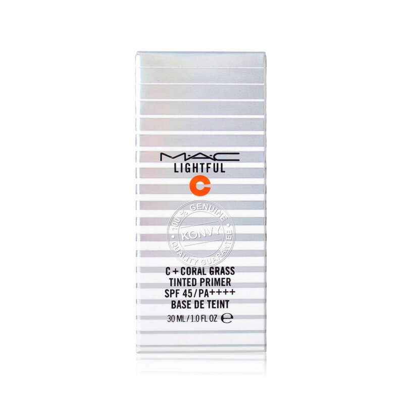 MAC Lightful C+ Coral Grass Tinted Primer SPF45/PA++++ 30ml